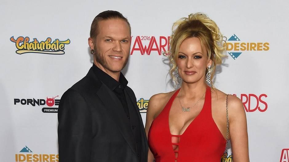 Stormy Daniels und ihr Noch-Ehemann Glendon Crain