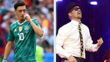 Mesut Özil und Jan Delay