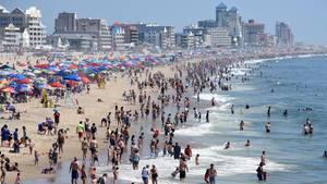 Maryland: Am Strand von Ocean City ist es zu einem tragischen Unfall gekommen