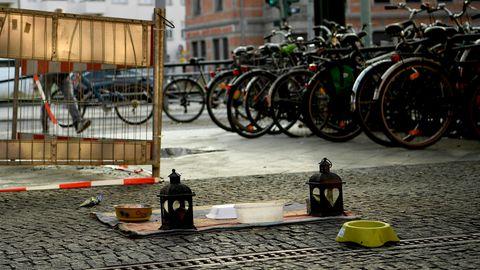 Obdachlose in Berlin angezündet