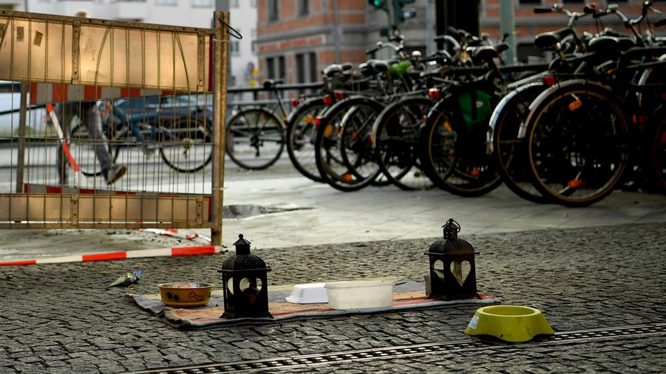 Obdachlose in Berlin angezündet