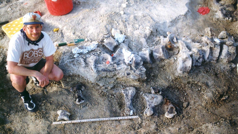 """""""Bigfoot"""": Dinosaurier-Fuß in den USA"""
