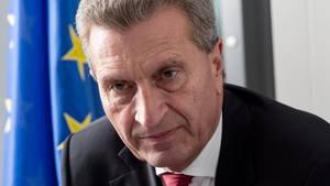 """Günther Oettinger im stern:""""Trump verachtet zuallererst Schwächlinge"""""""