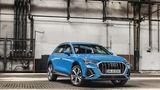 Audi Q3 Modelljahr 2019 - zum Marktstart gibt es drei Benziner und einen Diesel