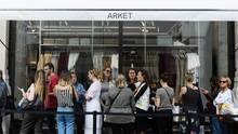 Arket in London: Großer Andrang zur Eröffnung