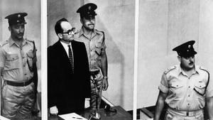 Nicht in Deutschland, sondern in Argentinien vom israelischen Geheimdienst entführt und wegen der Mitverantwortung an der Ermordung von rund sechs Millionen Menschen zum Tode verurteilt: SS-Obersturmbannführer Adolf Eichmann