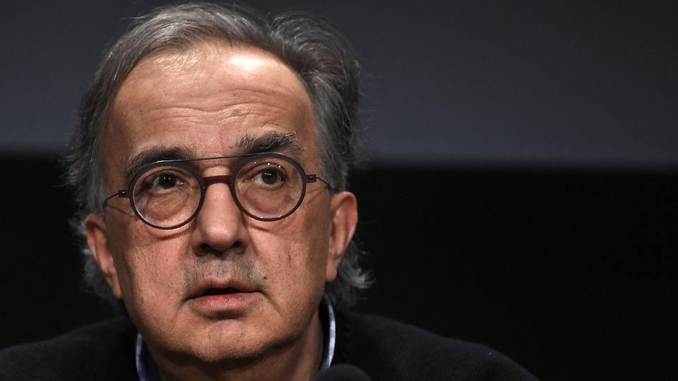 Ex-Fiat-Chef Sergio Marchionne wurde 66 Jahre alt