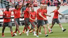 In Philadelphia trainieren die Bayern fleißig für die neue Saison