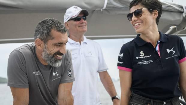 Erdal Yildiz und Jasmin Gerat sind ein Team