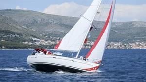 Die Rose of Charity-Regatta fand vor der Küste Kroatiens statt