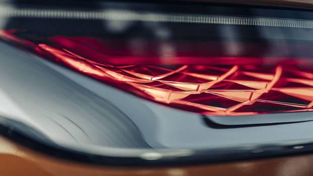 Schuppen-Design: die wunderschönen LED-Rücklichter