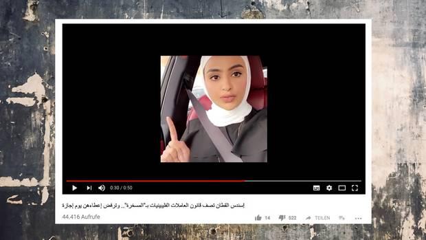 Ein Youtube-Video brachte derInfluencerin Sondos Alqattan eine Menge Ärger ein.