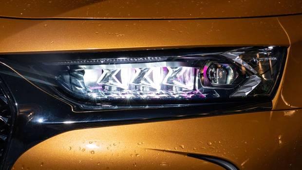 Wie funkelnde Edelsteine: die LED-Scheinwerfer