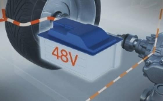 Bosch Boost Recuperation-System: Lithium-Ionen-Akku
