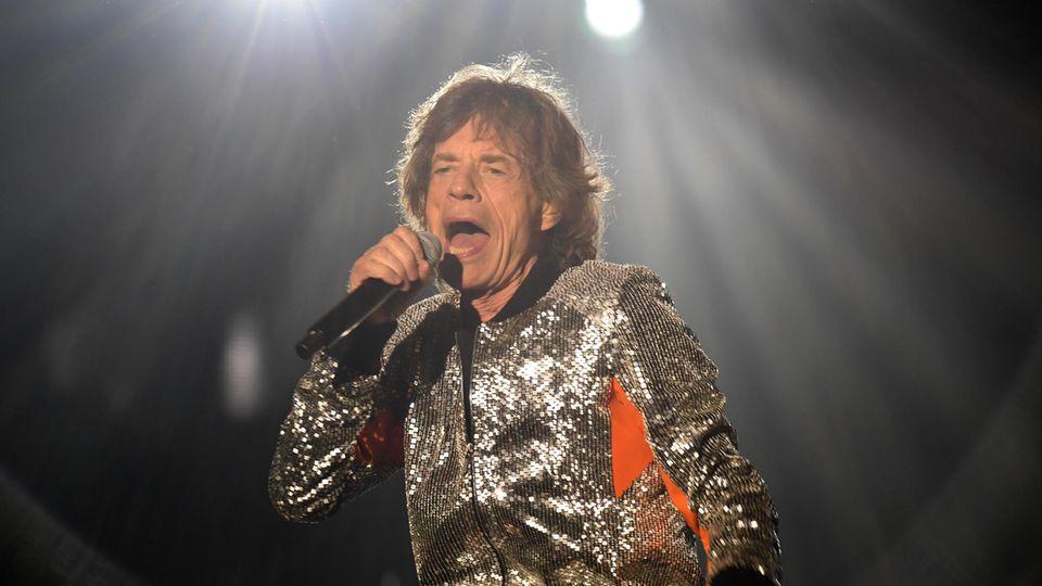 Mick Jagger wird 75