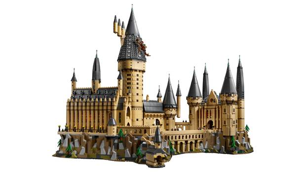 Harry Potter: Lego-Bausatz für das Hogwarts-Schloss
