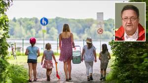 Wenn Kinder aus dem Wasser kommen und an Land husten, kann das auf eine ernste Gefahr hinweisen