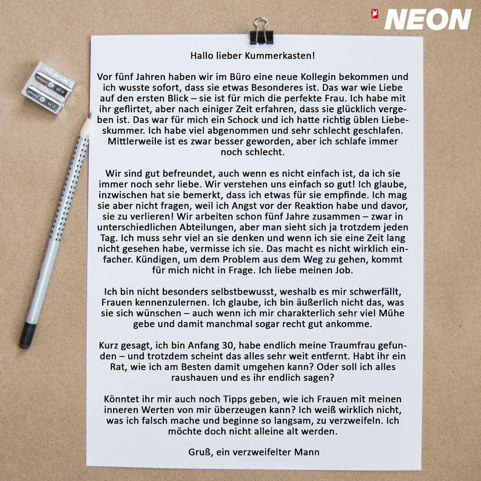 Der NEON-Kummerkasten