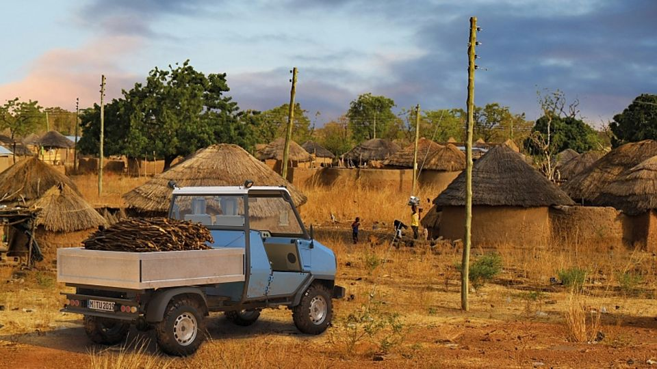 Das aCar ist für Afrika konzipiert