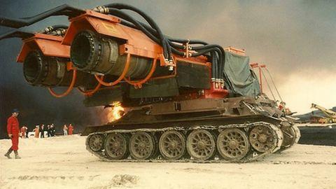 The Big Wind vor dem Einsatz im Kuwait.