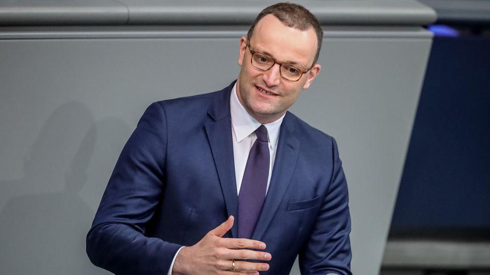 """CDU-Kandidatenkür: Jens Spahn: """"Für das, was auf uns zukommt, brauchen wir Halt"""""""
