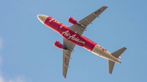 Ein Airbus A320 von Air Asia