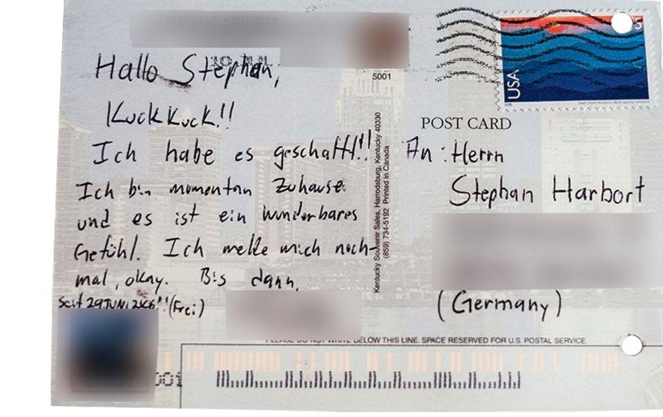 Viele, mit denen Harbort sprach, schickten ihm selbst nach der Haftentlassung noch Post