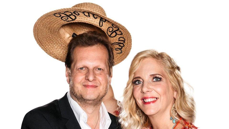 Promi-Auswanderer: Jens Büchner (mit Ehefrau Daniela)