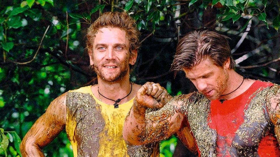 Peer Kusmagk und Thomas Rupprath im Dschungelcamp 2011