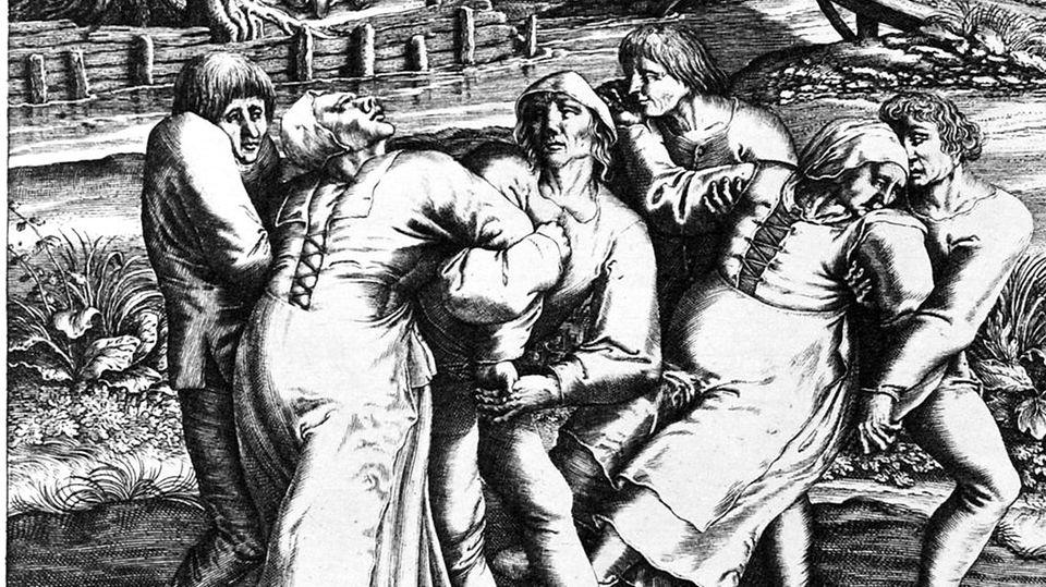 Tanzwut 1518