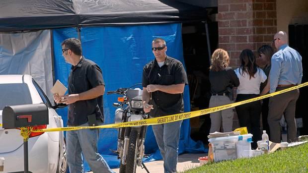 Ermittler sammelten im Haus vonJames DeAngelo weitere Beweise
