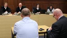 Der ehemaligeV-Mann des LKAim Landgericht Nürnberg