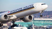 Wieder auf dem Siegertreppchen bei der Skytrax-Umfrage 2018: Singapore Airlines.