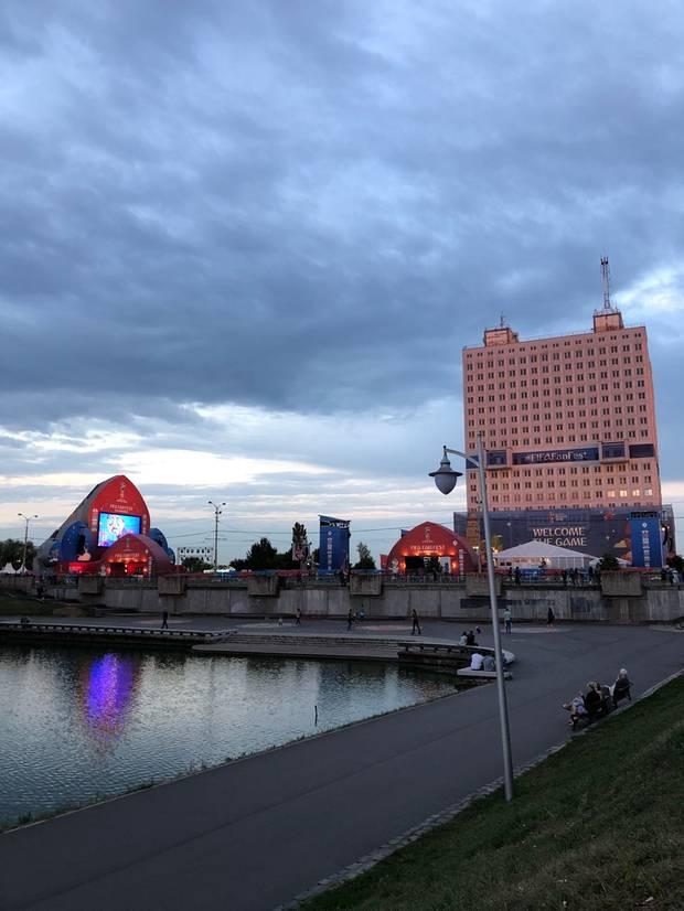 Fifa Fanmeile in Kaliningrad