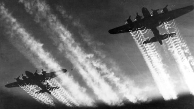 Die deutsche Luftwaffe konnte immer weniger gegen die Bomberflotten ausrichten.