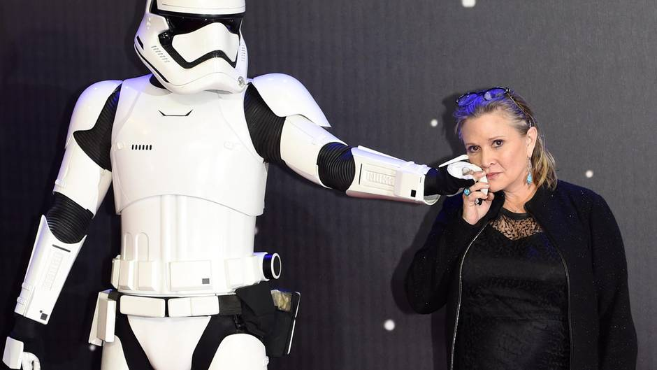 Star-Wars-Legende Carrie Fisher: Auch nach ihrem Tod noch in Episode IX