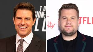 Tom Cruise und James Corden