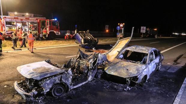 Nachrichten aus Deutschland: Unfall auf der Autobahn 3 Nürnberg