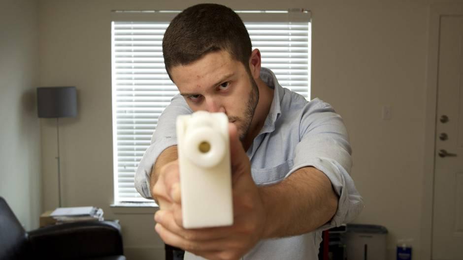 """Cody Wilson und sein """"Liberator"""", eine Plastikpistole aus dem 3D-Drucker"""