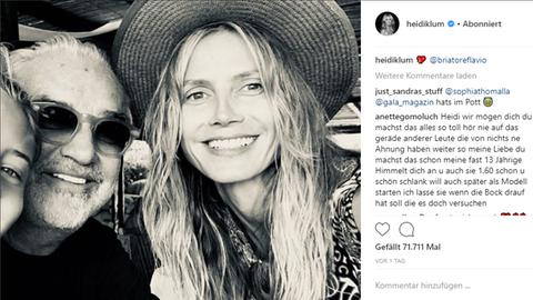Heidi Klum Flavio Briatore