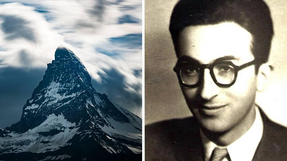 Joseph Leonce Le Masne starb 1954 auf der italienischen Seite des Matterhorns