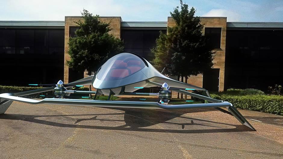 Traum vom Fliegen: Sieht so das erste fliegende Auto der Welt aus?
