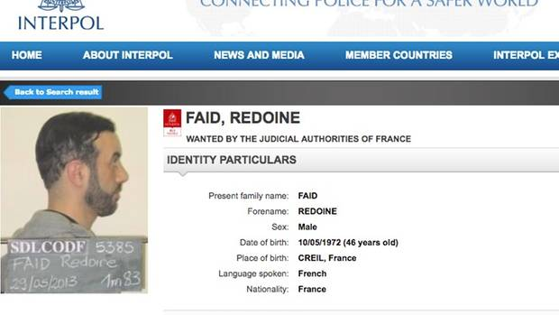 Screenshot der Interpolseite