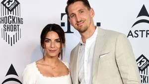 Lilli Hollunder und ihr Mann René Adler beim Filmfest in München