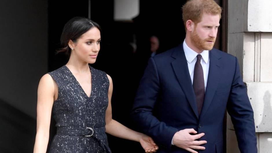 Royales Paar: Meghan und Harry halten nicht mehr Händchen - Grund zur Sorge?
