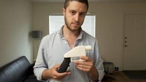"Cody Wilson hat die Plastik-Waffe ""Liberator"" entwickelt"