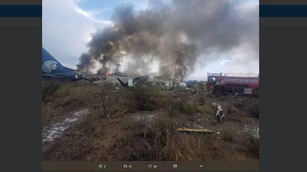 Augenzeugen des Flugzeugabsturzes berichten von zahlreichen Verletzten