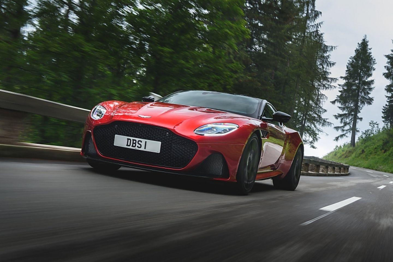 Aston Martin Dbs Superleggera Die Britische Speed Versuchung Stern De