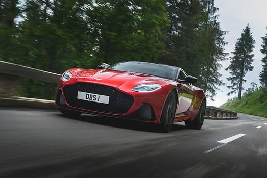 Aston Martin DBS Superleggera - 340 km/h schnell