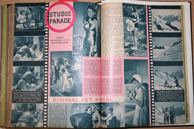 """Eine Doppelseite aus """"Der Stern"""" von 1939"""